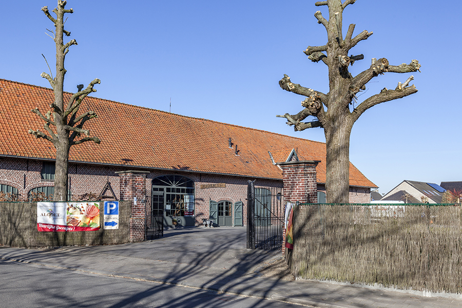 Parking hoeve Authentic Roeselare